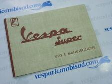 LIBRETTO USO E MANUTENZIONE VESPA 125-150 SUPER 1965  Vesparicambisud