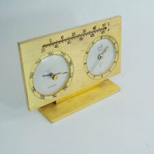 Jaeger 1960ties Clock - Weather Station, Barometer, Thermometer, Wecker Recital