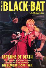 "THE BLACK BAT DOUBLE NOVEL VOL #3 TPB Pulp Comics ""BLACK BAT'S SPY TRAIL"" TP"