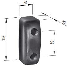 Rubber buffer Anschlagpuffer Vibrationsdämpfer passend für Stihl 044 MS440