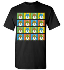 Canadian Eskimo Dog Cartoon Pop T-Shirt, Men Women Youth Tank Short Long Sleeve