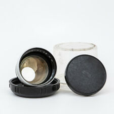 ZEISS IKON PANTAR 1:4 75MM LENS with cap and plastic bubble case