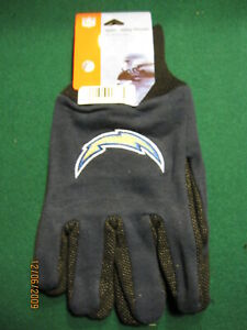 SAN DIEGO CHARGERS  SPORTS UTILITY GLOVES, NEW WITH TAGS