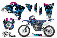 Yamaha YZF 250/450 WR 250F/450F Dirt Bike Graphic Kit Decal MX Wrap 03-06 FRENZY