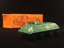 USSR VINTAGE MILITARY TIN TOY DIECAST MODEL OF military vehicle