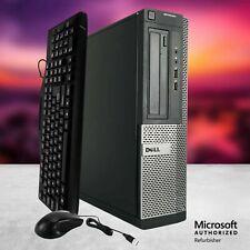 Dell 3010 Quad Core i5 3.10GHz 16GB RAM 2TB Windows 10 Computer Desktop PC HDMI