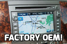 FACTORY STOCK OEM GM® GPS NAVIGATION SYSTEM RADIO UPGRADE CD DVD PLAYER BOSE