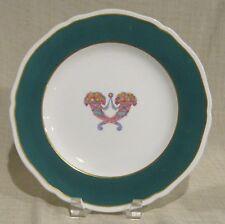 """Antique Spode Copeland 10 1/2"""" Plate with Cornucopias and Teal Trim"""