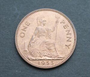 GB Penny – 1953 – RARE DATE - (From Plastic Set) Super BUNC Coin (Je1)