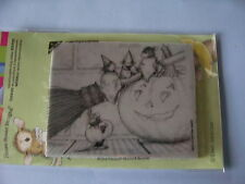 HOUSE MOUSE RUBBER STAMPS CLING THREE WITCHES HALLOWEEN STAMP