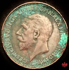 1927 Great Britain Farthing Penny Coin - Lot#W27