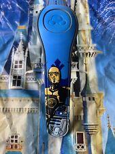 NEW DISNEY PARKS Star Wars R2-D2 C-3PO BLUE Magicband Magic Band 2 Unlinked