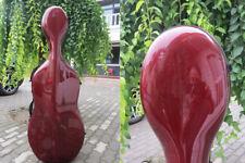 Free shipping :Great red composite carbon fiber cello case 4/4.hard cello case