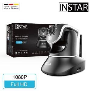 Original INSTAR IN-8015 Full-HD IP-Kamera WLAN Überwachungskamera Webcam IP-Cam