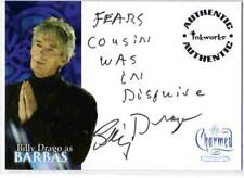 Charmed Conversations Auto Autograph Card A5 Billy Drago as Barbas [ variant 2 ]