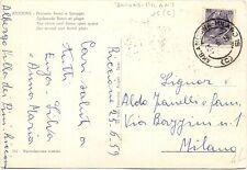 P5074    Annullo ambulante  Ancona-Milano 1959