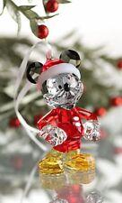 SWAROVSKI DISNEY CHRISTMAS MICKEY MOUSE ORNAMENT 5004690 MINT BOXED RETIRED RARE