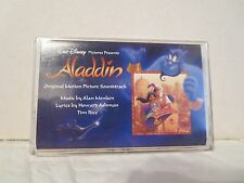 ALADDIN (SEALED Walt Disney Soundtrack Cassette) Friend Like Me, Alan Menken