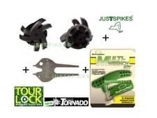 Ultimate Cleat Kit 20 Tornado Tour Lock Fast Twist Tri Golf Spikes Justspikes