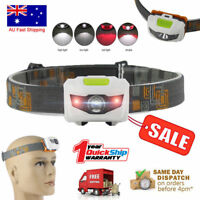4-Mode Headlamp XM-L T6+2R5 LED Headlight Adjustable Head Torch Waterproof Light