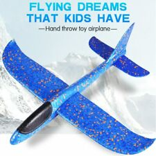 Glider Plane Model Toy Kids Hand Throw 48 CM Foam Glow Airplane Outdoor 3 Colors
