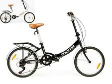 "Bicicleta Plegable ALUMINIO Rueda 20"", SHIMANO 6v"