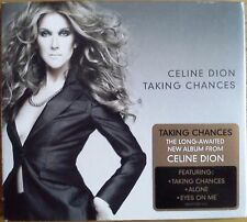 """Celine Dion - Taking Chances (CD 2007) Fold out Card Cover """"Alone"""" """"Eyes on Me"""""""