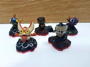 Skylanders Trap Team Mini Bundle x 5 Spry Bop Drobit Terrabite Trigger Snappy