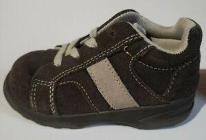 stride rite cody brown/sandstone toddler boys size 6 wide