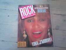 ROCK & FOLK N° 240 / AVRIL 1987 / très bon état
