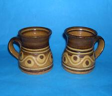 Alan Frewin Millhouse Studio Pottery - Pair Of Attractive Mugs (M.Marks).