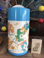 Original 1983 care bears Carebears Thermos Drinking Container Care Bear