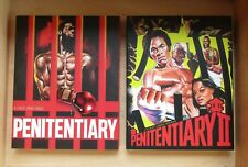 Penitentiary / Penitentiary II Blu-ray/DVD Combo New Sealed w/ Slipcover LIMITED