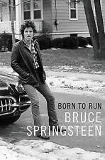 Born to Run Bruce Springsteen Autobiography  Harback Cover Music Rock Book