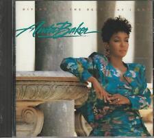 Music CD Anita Baker Giving You The Best That I Got
