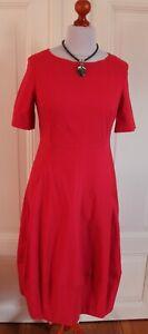 Fox`s Kleid Minon; rot mit Taschen 36 und 44,;M 26824 UVP 159,-; Neu!!