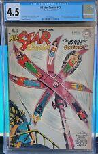 All-Star Comics 42 DC 1948 1st New Hawkman & Atom Costume CGC 4.5 VG+ Golden JSA