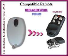 Homentry PS94331 compatible télécommande 433,92Mhz