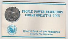 Filippine  Philippines  10 piso 1988  FDC in blister Rivoluzione 1986 KM 250