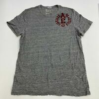 American Eagle Outfitters T Shirt Mens XXL Short Sleeve Gray Casual Vintage Fit
