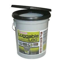 Reliance Luggable Loo Portable Toilet Bucket - Camping/Boating/Hunting, Etc