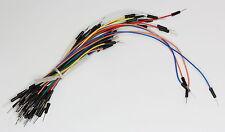 65 x Breadboard Jumper Wire Bundle -Arduino,Raspberry Pi,AVR,PIC prototype