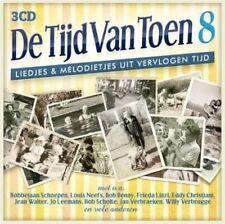 3 CD  -  DE TIJD VAN TOEN  8   (2015)    (NEW - NIEUW - NOUVEAU - SEALED)