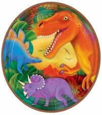Dino Dinosaurier Party Teller Pappteller 8 Stück Ø 23cm