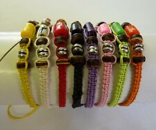 Boho Festival Friendship Bracelet Surfer Beads Set 8 pieces Unisex Adjustable