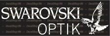 Swarovski Optik Scopes - Hunting / Shooting - Vinyl Die-Cut Peel N' Stick Decals