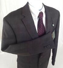 NEW Ralph Lauren Men's 42L Long Brown Check Blazer Sport Coat Suit Jacket NWT