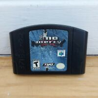 WWF No Mercy (Nintendo 64, 2000) N64 Authentic Game Cart - Tested, Working!
