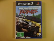 Hummer Badlands Sony PlayStation 2 PS2 PAL Factory Sealed Complete