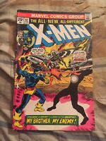 X-MEN #97 1st Lilandra Classic Cyclops Vs Havok Cover [MARVEL COMICS, 1975]